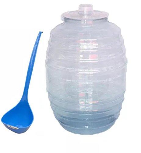 Barril Vitrolero de Plástico 10 Litros