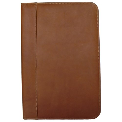 Piel Leather Legal-Size Open Notepad, Saddle, One Size