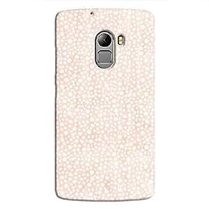 Cover It Up - Orange Pebbles Mosaic K4 Note Hard Case