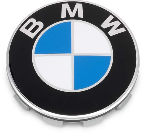 BMW OEM Genuine Chrome Ring Wheel Center Cap - Fits All Current Model Wheels NEW