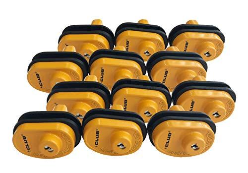 - 12 Pack Premium Keyed Alike Club Brand Gun Trigger Locks