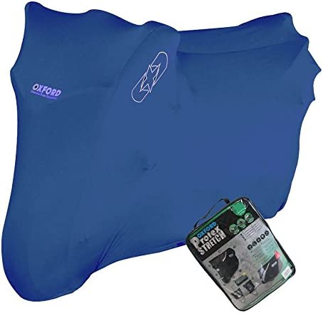 YAMAHA R1 SP Oxford Protex Stretch Motorcycle Breathable Dust Cover Bike Blue