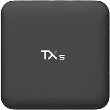 Zenoplige TX5 Smart TV Box Android 6.0 Melcocha Amlogic905X Quad Core TV Box 2G 8G 4K WiFi LAN Android TV Box: Amazon.es: Electrónica