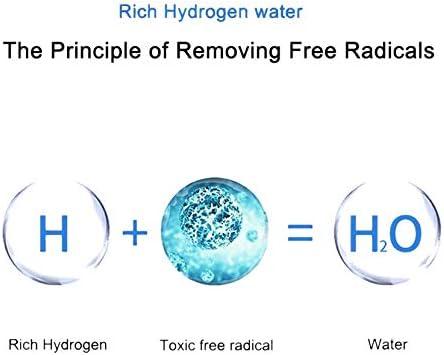 Waterionisator Waterstofwatermaker 2 liter draagbare wateriongenerator Waterstofrijke waterfles