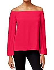 Rachel Roy Womens Textured Knit Blouse