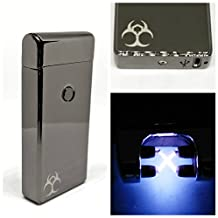 Dual Plasma Arc Lighter USB Rechargeable Multiple Styles and Colors by Alien Impulse