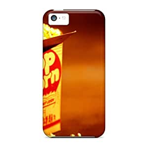 Snap-on Case Designed For Iphone 5c- Pop Corn