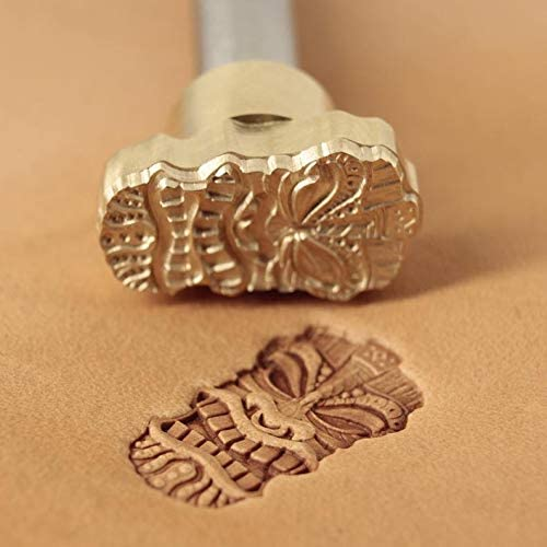 Leather Stamp Tool Stamping Working Carving Punches Tools Craft Saddle Brass Mask #269