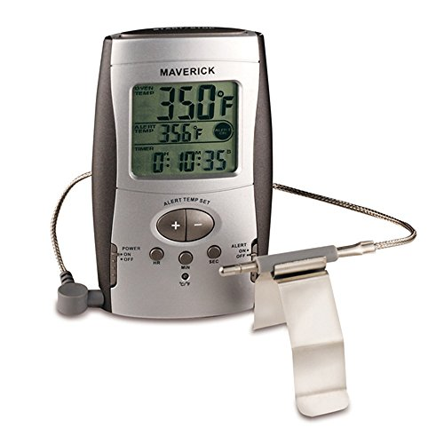 Gas Oven Temperature - Maverick OT-3BBQ Kitchen Thermometer, Black