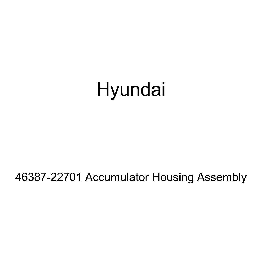 Genuine Hyundai 46387-22701 Accumulator Housing Assembly