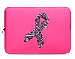 Crystal Bling Rhinestone Studded Pink Laptop Case