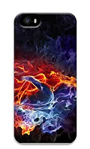 case rugged Burning Love Bodys PC Case for iphone 5/5S