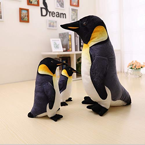 MIIA Penguin Stuffed Cute Penguin Plush Toy Real Life Stuffed Dolls Best Gift Toy for Kids - 10 Inch - Pig Raccoon Jellycat Owl Husky Bag Bean Octopus Tiger with Dog Girls Teddy