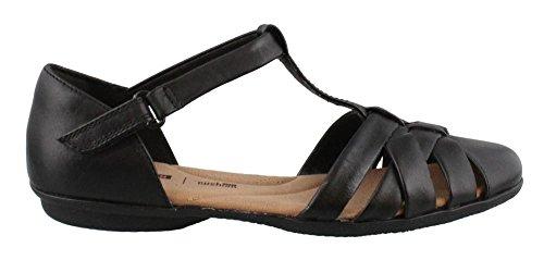 9w Art (CLARKS Women's, Gracelin Art Slip On Shoes Black 9 W)