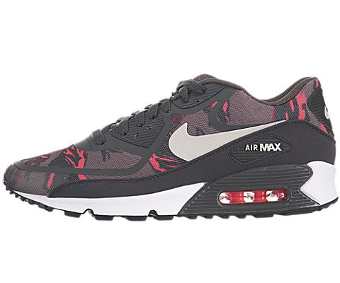 sports shoes 7c2a0 1c5b3 Galleon - NIKE Air Max 90 Premium Tape Camo Pack Mens Running Shoes  599249-226 Pewter Brown 11.5 M US