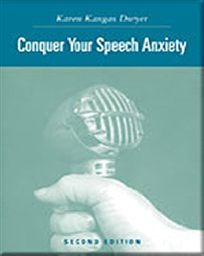 Conquer Your Speech Anxiety: Learn How to Overcome Your Nervousness About Public Speaking (with CD-ROM and -