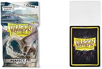 Dragon Shield Sleeves Sealable Clear 100
