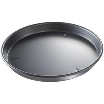 USA Pan Bakeware Aluminized Steel 14 x 1.5 Inch Deep Dish Hard Anodized Pizza Pan