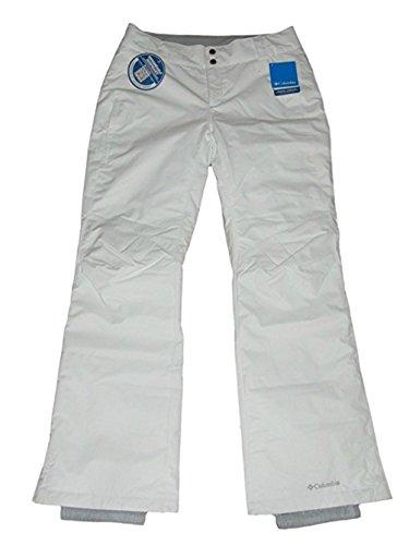 Columbia Womens Arctic Trip Ski Snowboard Pants White (Short - - Short Snowboards