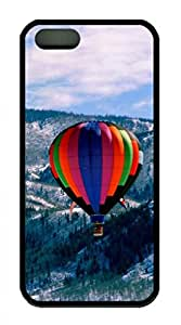 iPhone 5S TPU Black Color Soft iPhone Case Latest style Case Suit iPhone5/5S Very Nice And Ultra thin Case Easy To OperateColorful Parachute