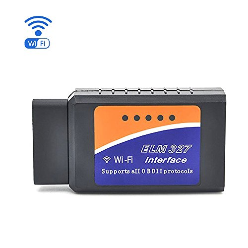 WIFI OBD2 Scanner, INS WiFi Wireless ODB 2 Check Engine Light Code Reader Diagnostic Scan Tool for Most Cars, Wireless OBDII for iOS Android Windows,Suitable For Most Cars & Trucks