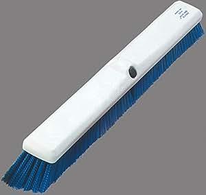 "Carlisle 4189014 Sparta Spectrum Omni Sweep Floor Sweep, Synthetic Bristles, 18"" Overall Width, Blue Bristles (Case of 12)"