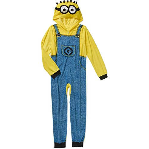 Despicable Me Boy's Union Suit Onesie Pajamas (X-Small (Despicable Me Onesie)