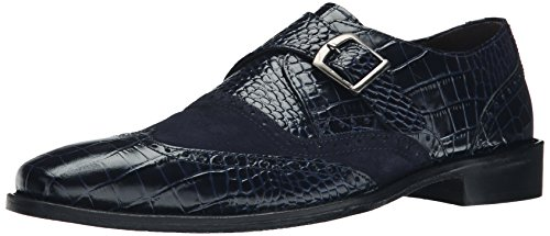Adams Men's On Stacy Blue Arrico Slip Loafer Suede Blue zgCqfwC