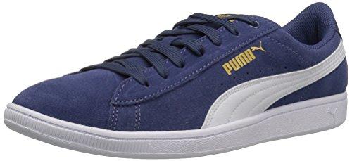 PUMA Womens Vikky Sneaker Blue Indigo-puma White