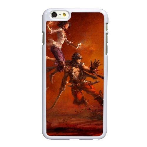 V6W14 Prince of Persia K5H9AQ coque iPhone 6 Plus de 5,5 pouces cas de couverture de téléphone portable coque blanche DB9IKX3PB