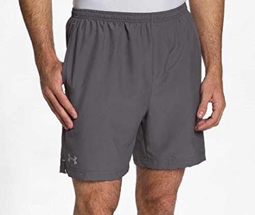 Escape 9' Woven Shorts (Mens Under Armour Escape 9'' Woven Short, Graphite/Light/Pastel Grey, XXL)