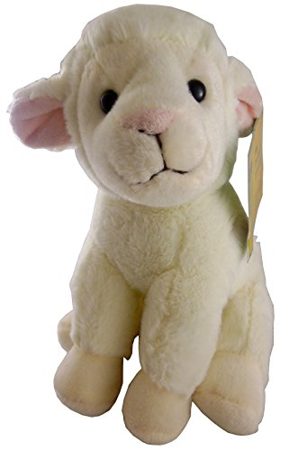 8.5 Inch Animal Planet Farmyard Cuddly Plush - Sheep - Soft Toys