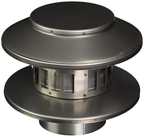 Noritz RC4 Rain cap vertical vent termination for 4