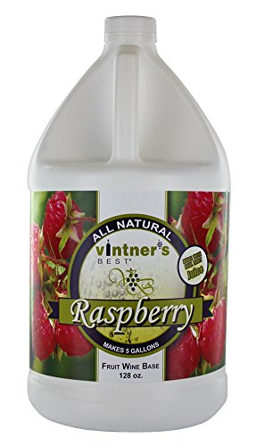 Home Brew Ohio Vintners Best Fruit Wine Base, Raspberry (Juice Wine Blackberry For)