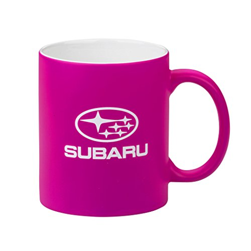 genuine-subaru-neon-hot-pink-ceramic-coffee-mug-cup