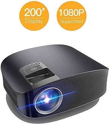 1080P Mini Portable Projector 1280 * 768P LED Display 200
