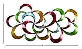 Deco 79 Colorful Abstract 3D Metal Wall Art