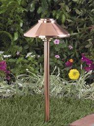 Vista Copper Path Lights - 7