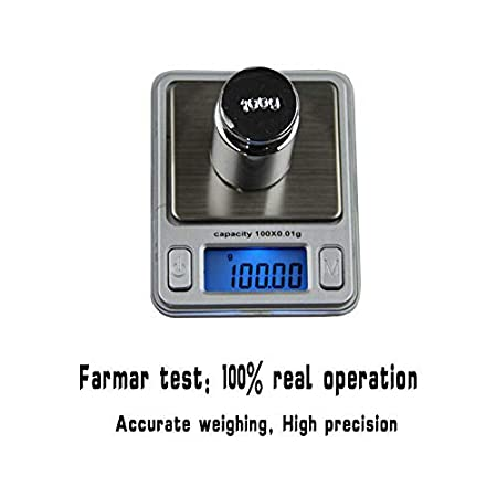 Digital Weighing Scales SENRISE Mini Jewellery Portable Pocket Scales 100g x 0.01g High Accuracy Electronic Balance Device Green