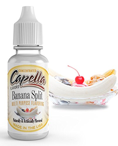 Capella Flavor Drops Banana Split Concentrate 13 ml bottle