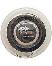 Dunlop Tennissaite Black Widow 1.25mm 200m Rolle, Schwarz, One size