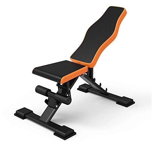 Chaopeng 腹筋ボード腹筋フィットネス機器ホーム腹部多機能腹部筋肉ボードダンベルベンチ   B07QR3Y6D1