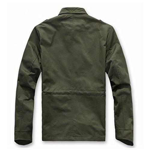 Militaire Wslcn Coton Veste Blouson Masculine Homme Vert Manteau Armée z1pq1wtZx
