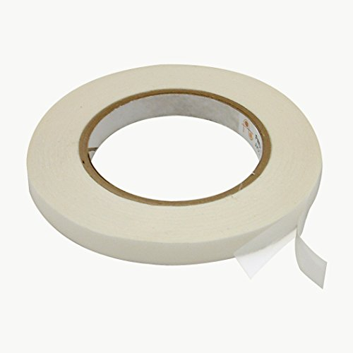 JVCC DC-4016R/P Double Coated Removable/Permanent Tape: 1/2 in. x 60 yds. (Clear)