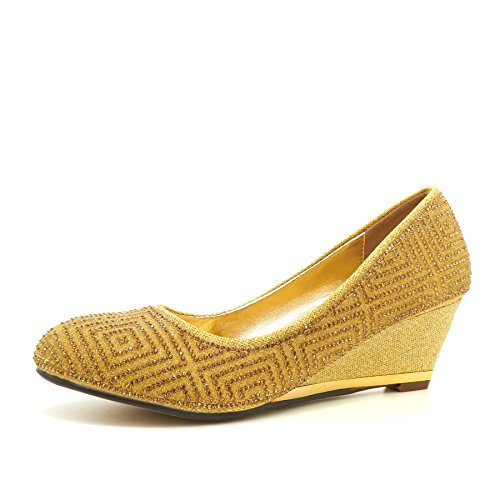 Footwear Con Zeppa Gold Sandali Donna London zUfw7qO