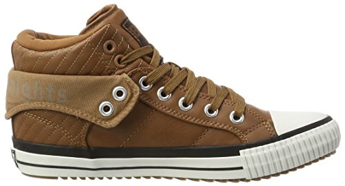 a Roco Cognac British Knights Collo Sneaker Marrone Alto Uomo qUtBg1