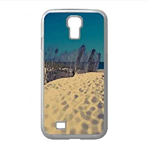 Sand, Shell Island Watercolor style Cover Samsung Galaxy S4 I9500 Case (Beach Watercolor style Cover Samsung Galaxy S4 I9500 Case)