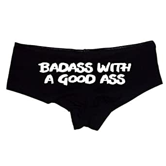boy ass shorts girl Black