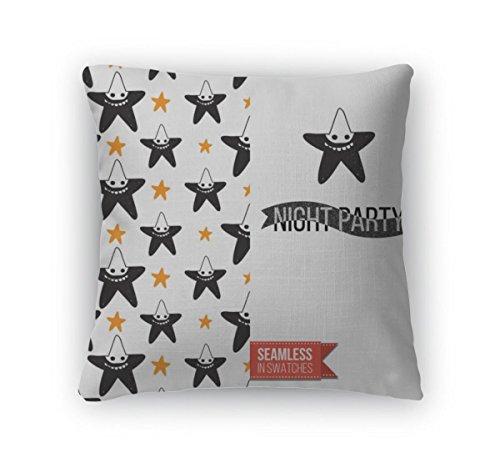 Gear New Throw Pillow Accent Decor, Halloween Flat Pattern, 20