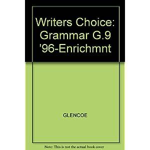Grammar Enrichment (Writer's Choice Grammar and Composition)